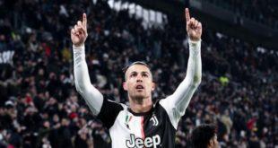 Роналду забил в 9-м матче подряд за Ювентус и сравнялся с рекордом Трезеге