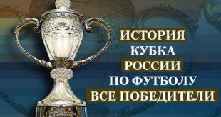 Победители Кубка Росси по футболу за все года: история турнира