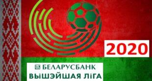 Таблица чемпионата Беларуси по футболу 2020 (Высшая лига)