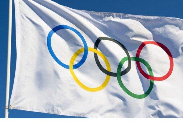 Флаг и кольца ОИ