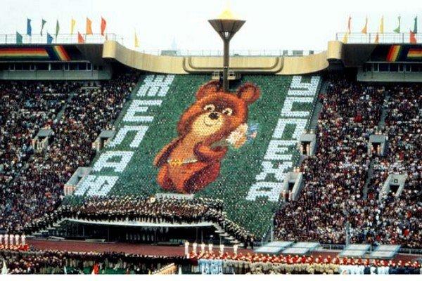 Талисман Олимпиады - Олимпийский миша