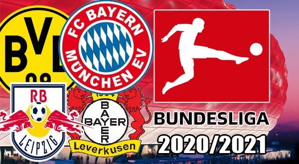 Бундеслига 2020/2021: турнирная таблица, календарь, результаты