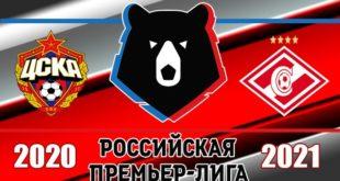 ЦСКА - Спартак: прогноз 12 сентября 2020, ставки, коэффициенты