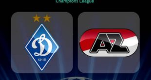 Динамо Киев - АЗ Алкмар: счёт матча 15 сентября 2020, статистика
