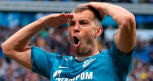 Зенит - Арсенал Тула: счёт матча 14 сентября 2020, статистика, голы
