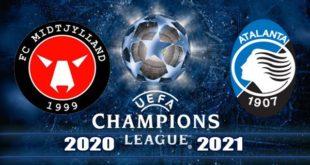 Мидтьюлланн - Аталанта: прогноз на матч 21.10.2020