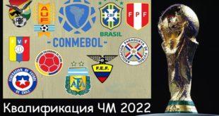 Квалификация ЧМ-2022 Южная Америка: таблица, расписание, результаты