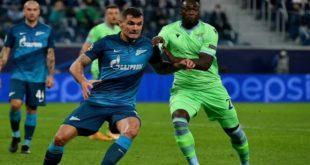 Лацио - Зенит: составы на матч 24 ноября 2020