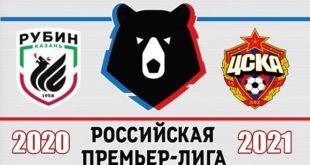Рубин - ЦСКА: составы на матч 29 ноября 2020