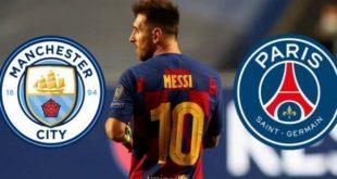 Манчестер Сити и ПСЖ убеждены в том, что Лео Месси покинет Барселону в 2021 году