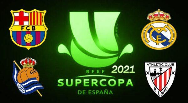 Суперкубок Испании по футболу 2021: расписание, результаты матчей