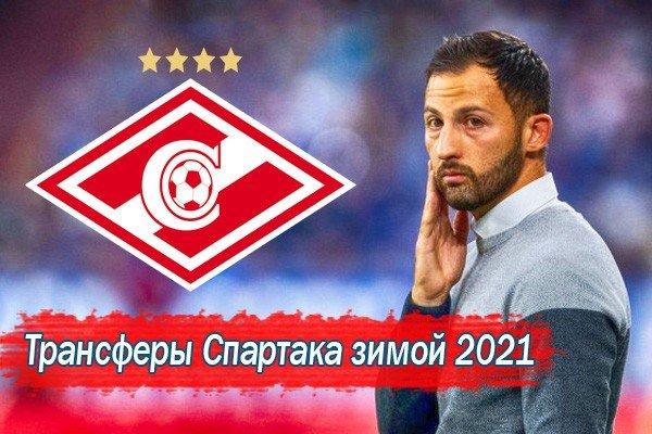 Возможные трансферы Спартака зимой 2021