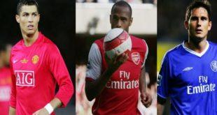 Когда день рождение у главных звёзд футбола?