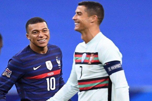 Роналду и Мбаппе