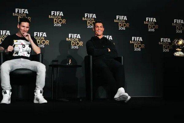 Месси и Роналду в номинации золотой мяч