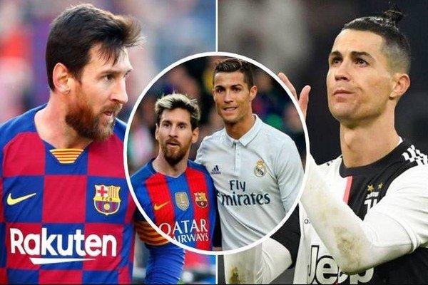 сравнение Роналду против Месси по голам