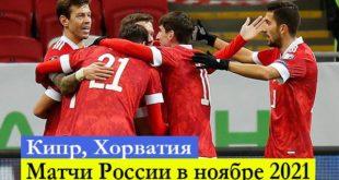 Матчи сборной России по футболу в ноябре 2021: расписание Отбор ЧМ-2022