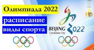 Зимняя Олимпиада 2022 в Пекине: расписание игр, виды спорта